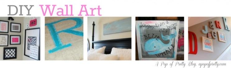 DIY Wall Art Ideas Collage 31 Days