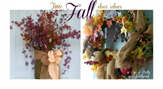 Fall Door Decor Ideas