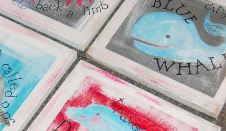 Just Decoupage It! {Two fun Mod Podge DIY wall decor ideas for kids rooms!}