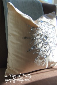 Pier One Christmas pillow
