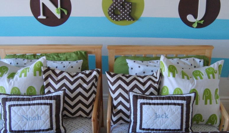 Room Makeover: Twin Boy Nursery to Toddler Room (without changing everything!)