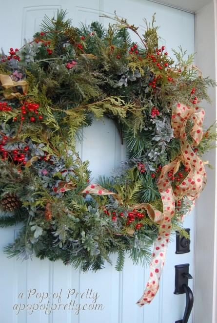 Christmas decorating ideas - wreath