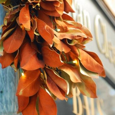 My Magnolia Leaf Holiday Decorating Crush