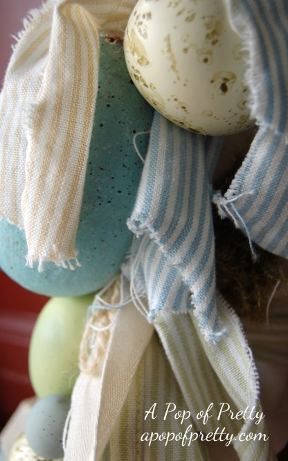how to make a wreath for Easter