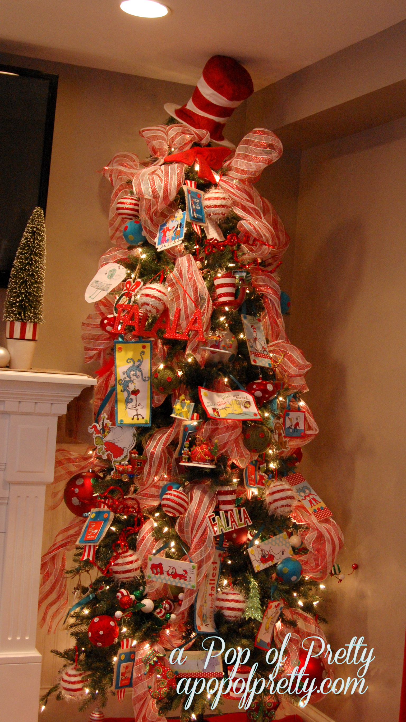 Our Dr. Seuss Christmas Tree! (2012) - A Pop of Pretty Blog ...