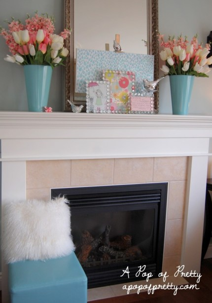 Spring Mantel Decorating Ideas