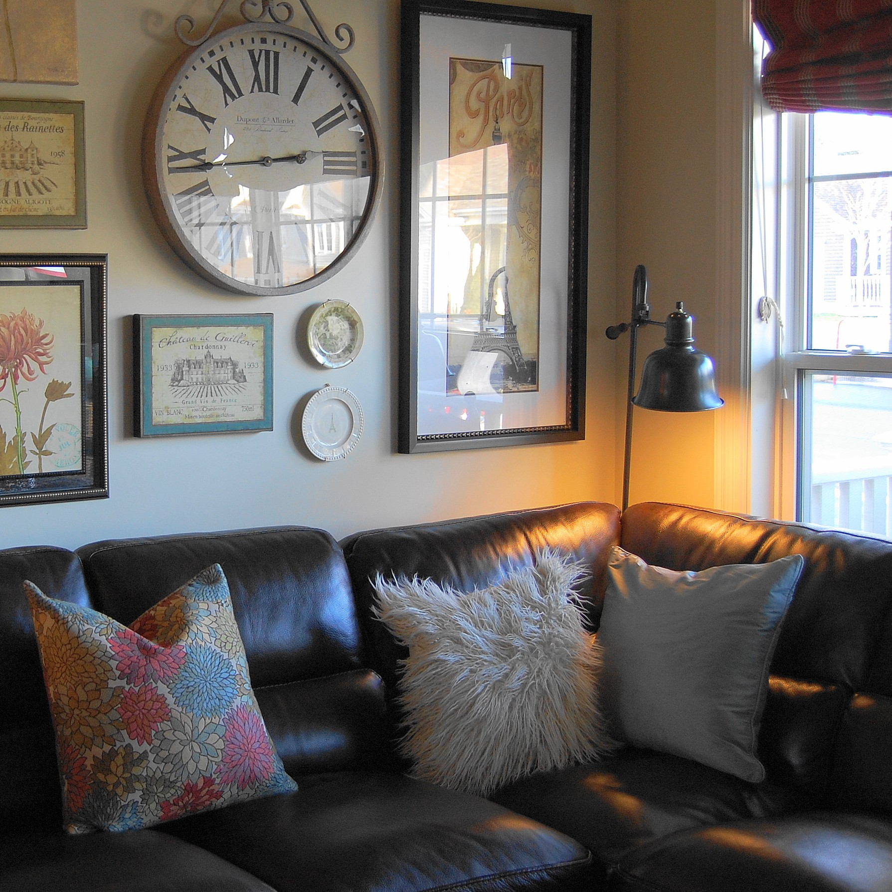 Beauty U0026 The Beast: Decorating With A Sectional Sofa {5 Fab Examples}