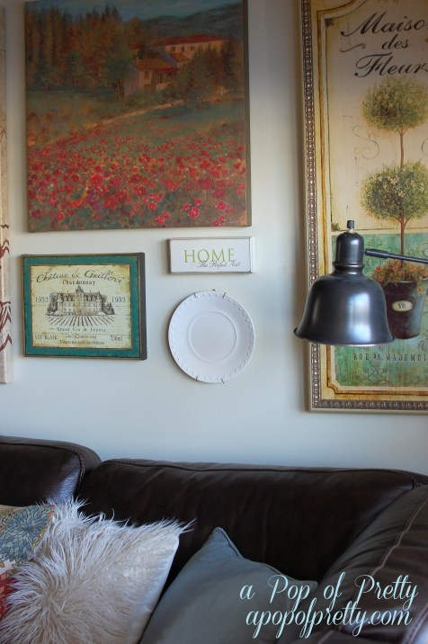 diy decorating - gallery wall