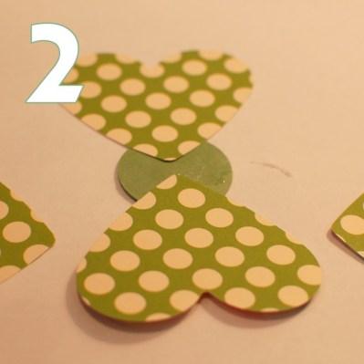 make a shamrock - step 2