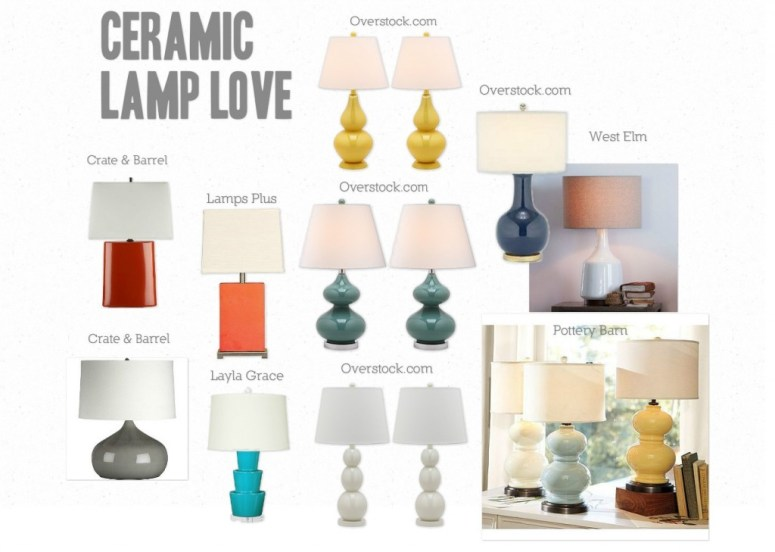 ceramic table lamp - where to buy