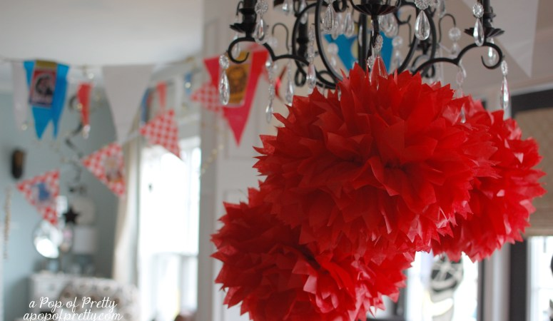 DIY Broadway Party Decor! {Party Theme Ideas}
