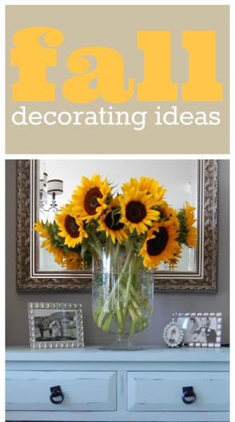Fall Decorating Pictures