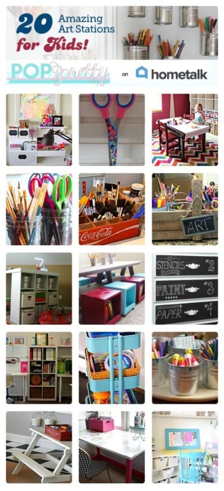 art stations for kids
