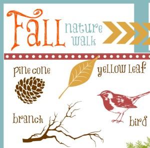 Nature Walk Printable