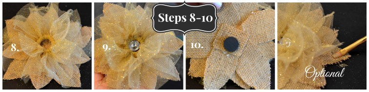 hostess gift tutorial - step 8 to 10