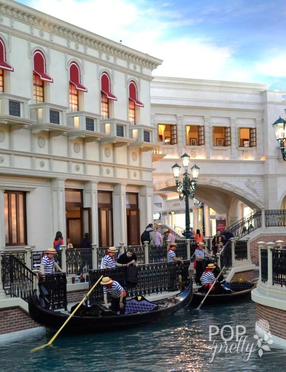Las Vegas trip Grand Canal
