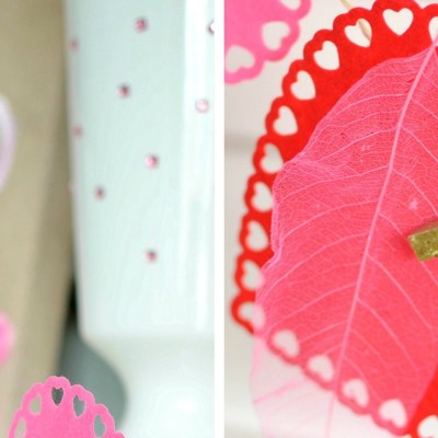 Love is in the air! {Last Minute Valentines Day Decorating}