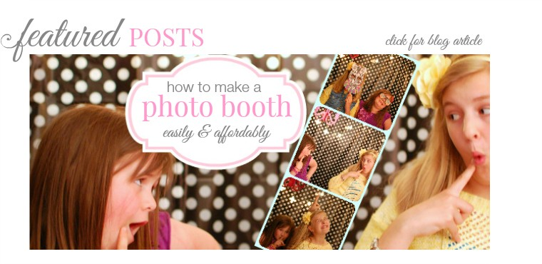 diy photo booth tutorial part one