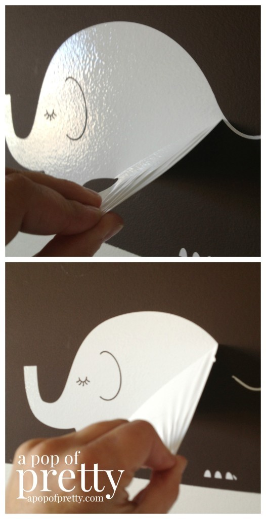 how to remove vinyl wall decals or quotes