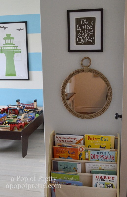 Canadian Bloggers Home Tour - a pop of pretty - twin boys room