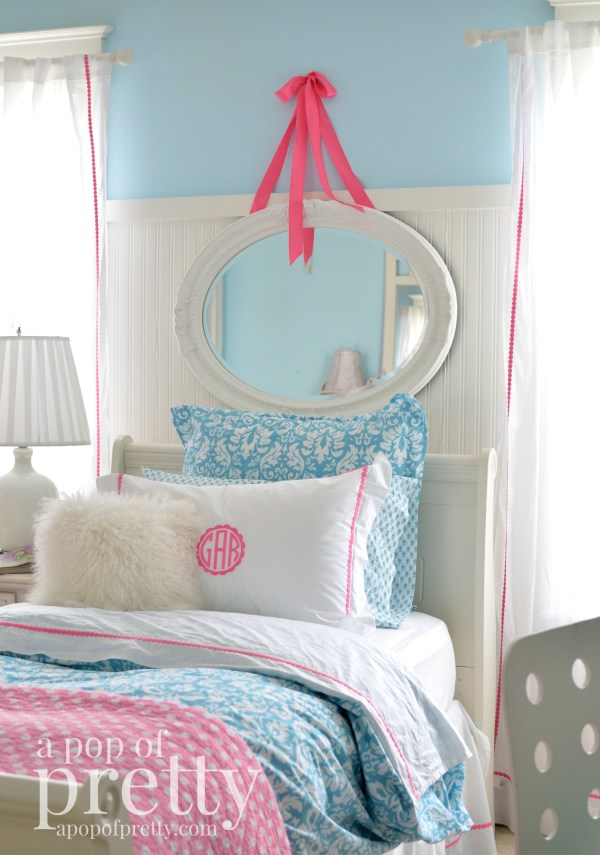 Girl Bedroom makeover - Behr Marquee Ethereal Mood