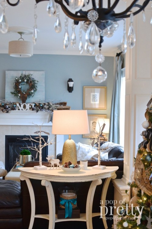 French inspired Christmas decor 18