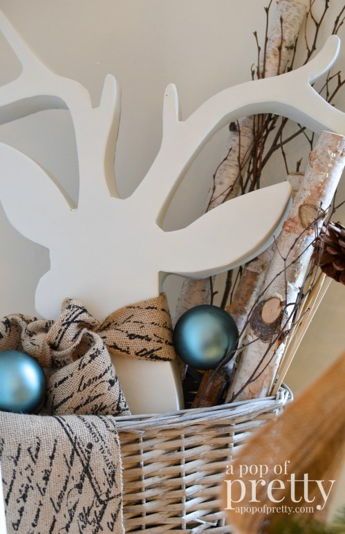 French inspired Christmas decorating