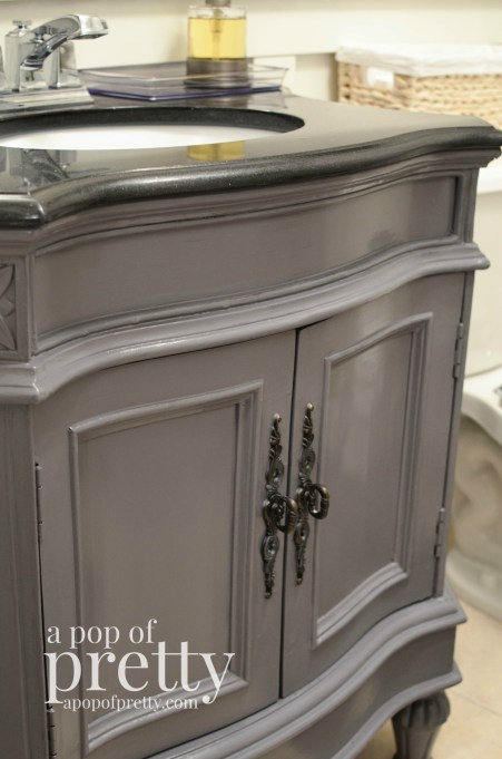 bathroom vanity makeover behr paint