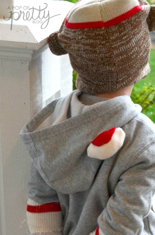 Halloween-costume-ideas-sock-monkey