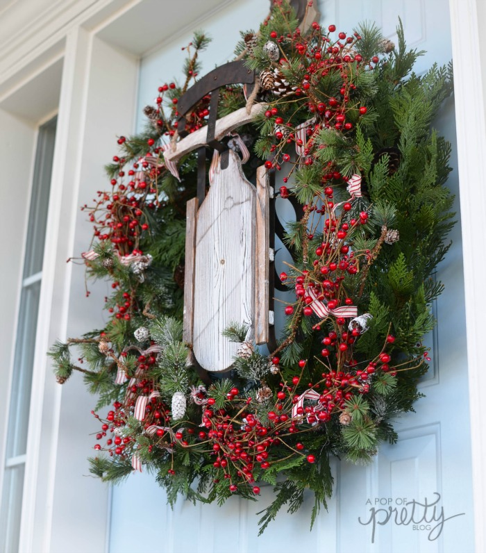 Wicker Emporium rustic sled