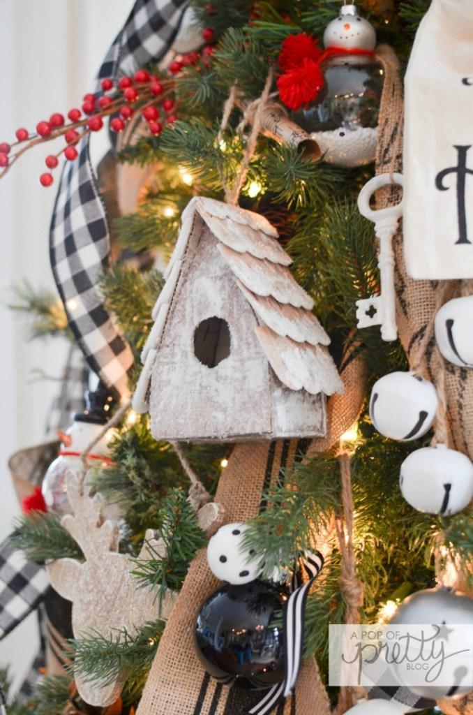 Cottage Christmas Tree 3