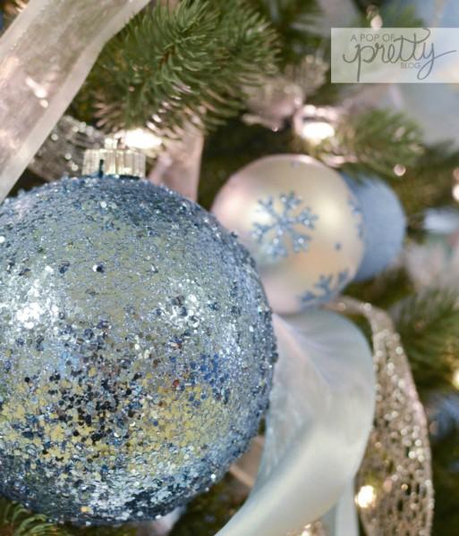 Diy Disney Frozen Christmas Tree A Pop Of Pretty Blog Canadian
