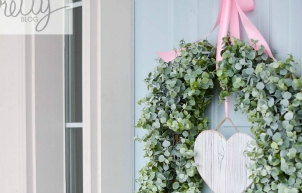 Pretty Valentines Day Wreath {Good for the Soul}