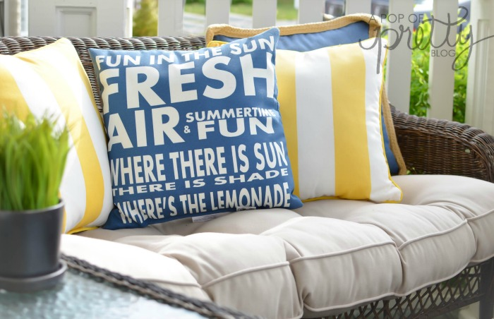 summer decorating ideas front porch
