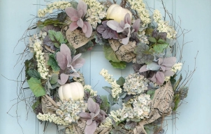 Easy DIY Fall Wreath (Floral)