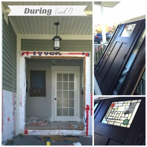 installing a new front door