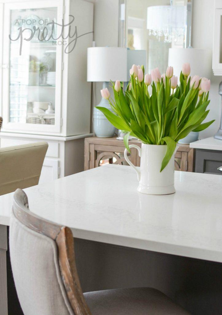 kitchen renovation quartz counter