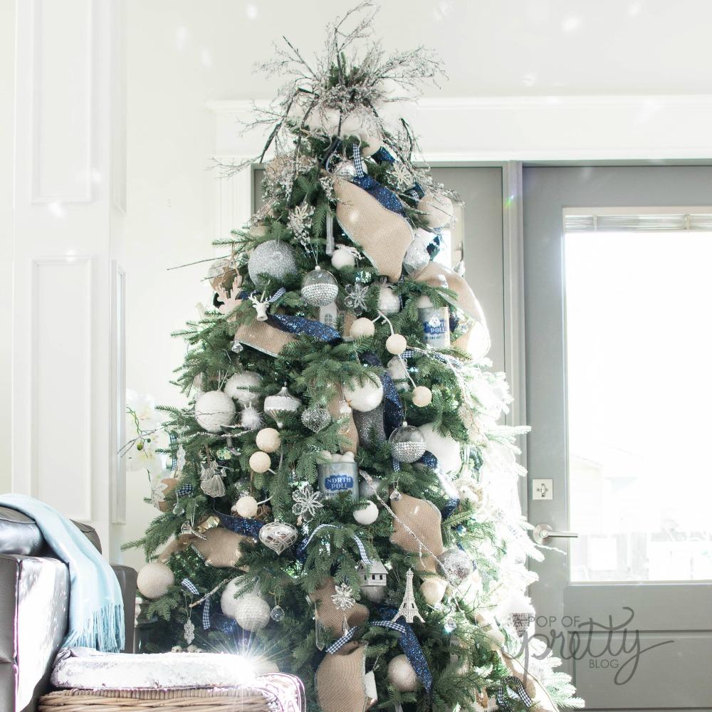 christmas tree decorating tips curl ribbon