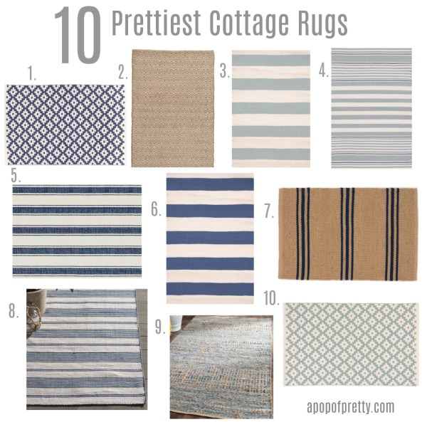 Cottage rugs sources