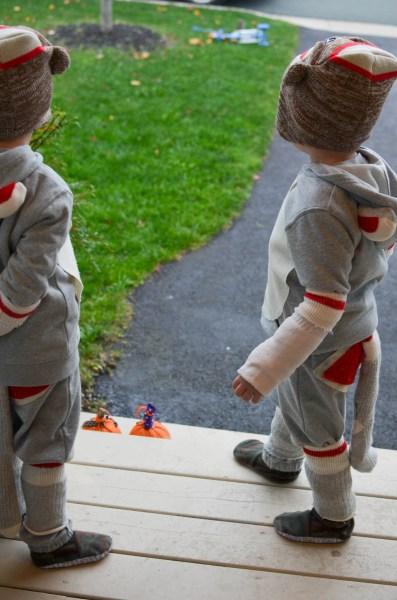 Halloween Sock Monkey