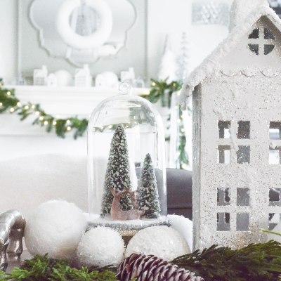 Christmas Home Tour 2018: A Simple White Christmas
