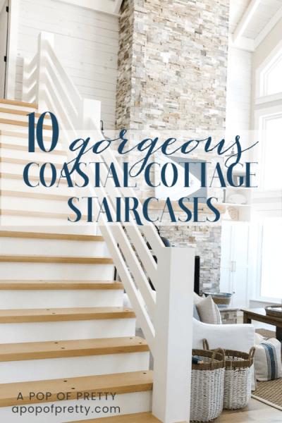 10 Coastal Lake House Staircases