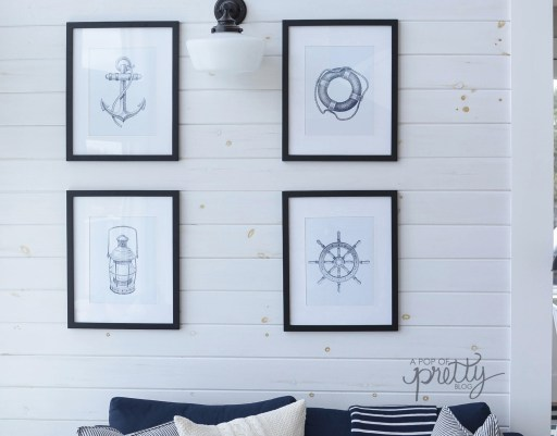 white wash shiplap walls tutorial - how to step by step