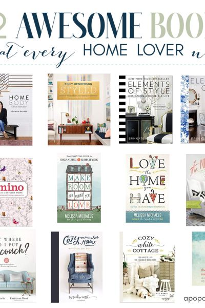 books for home lovers