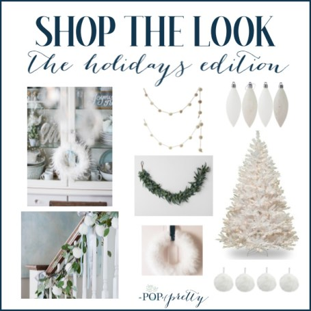 white Christmas decorations where to buy