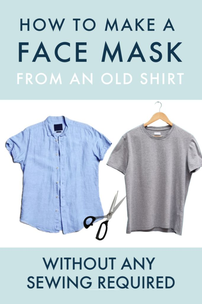 face covering from a t shirt