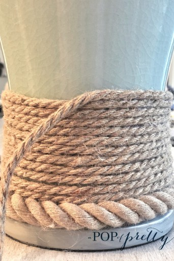 jute wrapped lamp