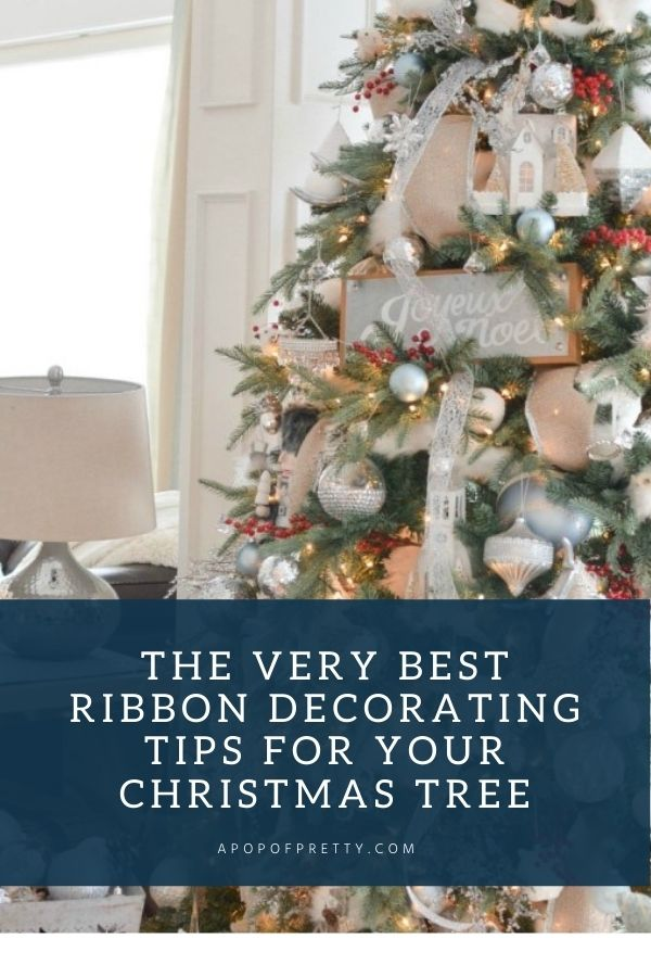 best ribbon tips christmas tree