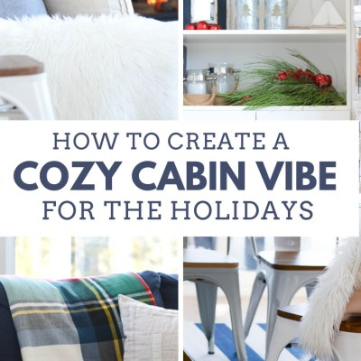 Cozy Lakehouse Vibe for Christmas: 5 Decor Tips