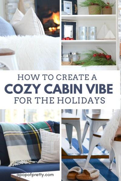 cozy cabin holiday decor
